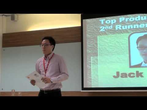 Jack Chung, Senior Marketing Director, 3rd Position 2011 @ CTS Branch Award Presentation 2011
