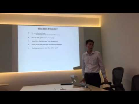 Nicholas Lai, Senior Marketing Director sharing on New Project Marketing Sales Success Tips